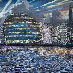 City Hall at Night - Jan 2011 - Sold to private owner