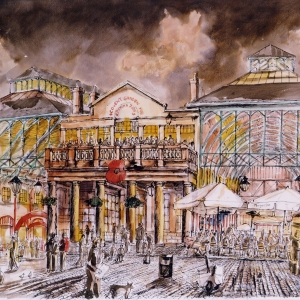 Covent Garden at night 2000 - Owned by Stuart Coverman