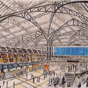 Liverpool Street Station 2000 - Owned by Alan Sauce