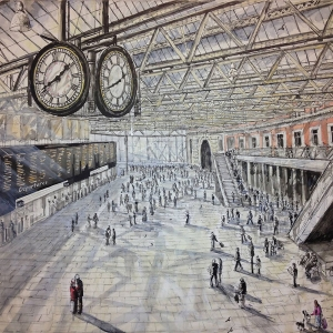 Under the Clock, Waterloo Station - Owned by Nathan Edwards