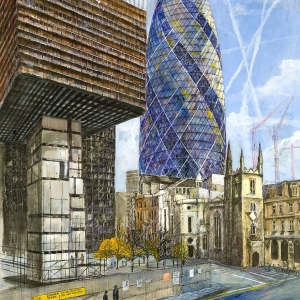 From the bottom up by the Gherkin - Owned by the very popular Jeff Jackson