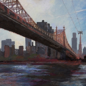 Queensboro Bridge with Cable Car - Owned by Helen and Steve Sharples