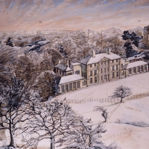 Kenwood House in the snow 2003
