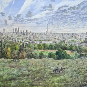 Parliament Hill from Hampstead- owned by David Fuller and partner