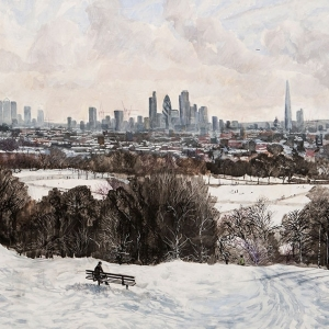 Parliament Hill in the Winter 2013