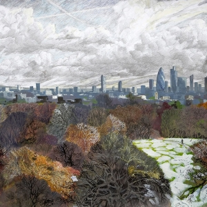 View of the City of London from Waterlow Park - Owned by Phillip Glatter