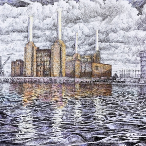 Battersea Power Station 2012 - Sold at Battersea Affordable Art Fair