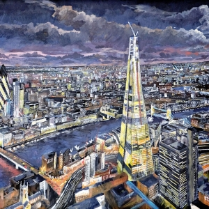 The Shard at night 2012 - Private Owner