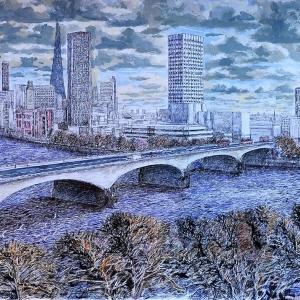 Waterloo Bridge from the Savoy 2012
