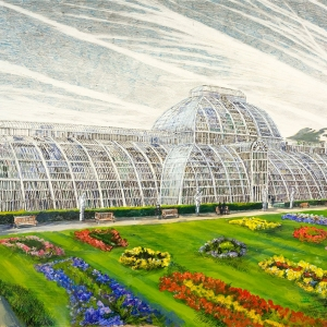 Kew Gardens with my friend Carol - owned by David & Christine Snowden