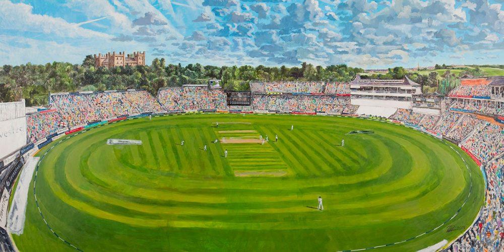 Fourth Ashes Test, Durham County Cricket Club, 2013