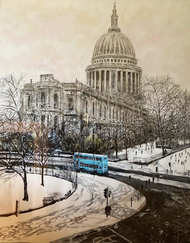 London artist David Downes