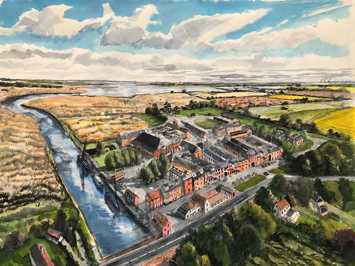 Residency and Exhibition at Snape Maltings
