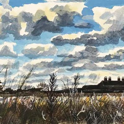 Snape Maltings from the Marshes